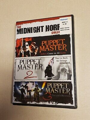 Midnight Horror Collection: Puppet Master (DVD, 2010)