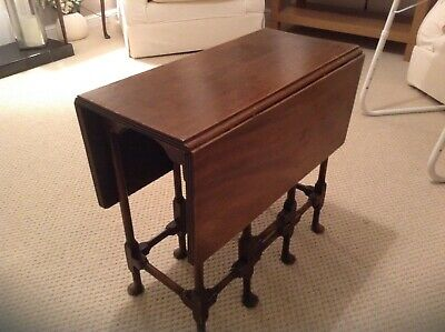 Small Antique Drop Leaf Table