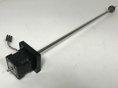 Stepper Motor Linear Actuator w/ Acme Trapezoidal Lead Screw+Nut 370mm NEMA 14 Z