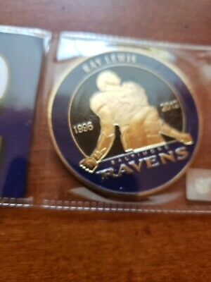 Ray Lewis 2018 Hall Of Fame Induction SGA Coin