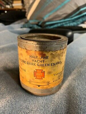 Antique Rare Find 1827 Smith Marine Paint Can First Edition Production Number 01