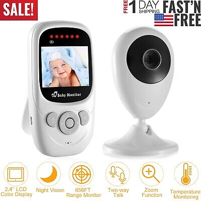 2.4GHz Video Baby Monitor with Digital Camera Infrared Night Vision, 2 Way Talk