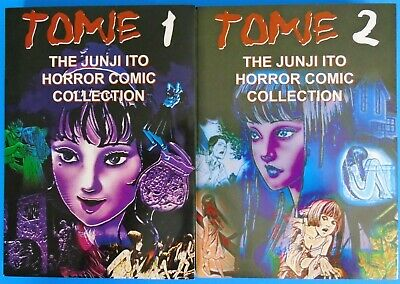 The Junji Ito Horror Comic Collection Tomie 1 & 2 Magna Paperback Comics One