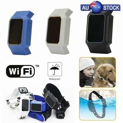 Waterproof Mini GPS Pet Finder Tracker Locator GSM Tracking Dog Cat Collar