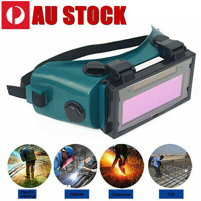 Lcd Auto Goggles Solar Glasses Darkening Welding Mask Helmet Arc Eye Protection