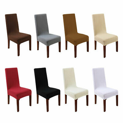 Stretch Chair Covers Wedding Chair Cover Banquet Party Decor Dining Seat Covers