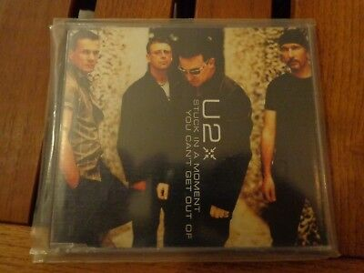 U2 - STUCK IN A MOMENT YOU CAN'T GET OUT OF - CDs ORIGINAL PRESS