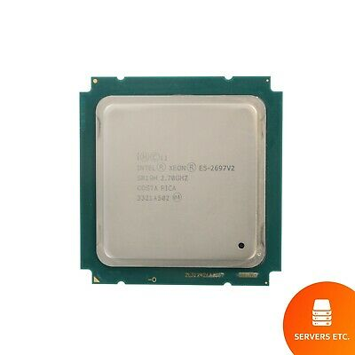 Intel Xeon E5-2697 V2 Cpu Processor 12 Core 2.70Ghz 30Mb L3 Cache 130W Sr19H