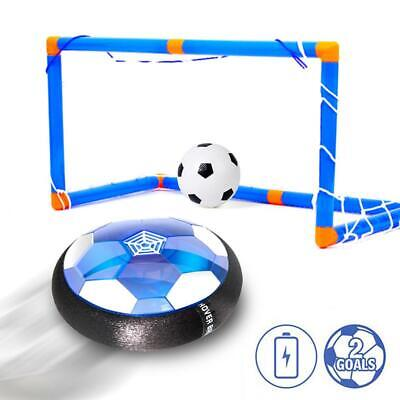 Kids Toys-Hover Soccer Ball Set with 2 Goal, Inflatable Football Toy Boys/Girls