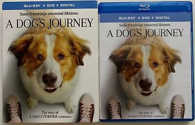 A Dog's Journey Blu Ray Dvd 2 Disc Set + Slipcover Sleeve Free World Wide Shipin