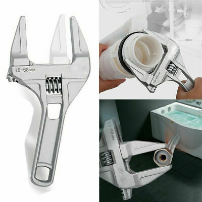 Multi-Function Adjustable Wrench 200mm Spanner With 16-68mm Jaw Capacity UK X7Q3
