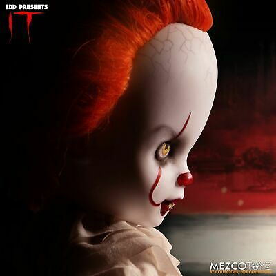 Mezco Living Dead Dolls Presents IT Pennywise Doll (PRE-ORDER)