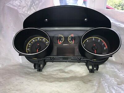 Fiat Evo Abarth Complete Instrument Cluster Guaranteed Mint Condition 51871283