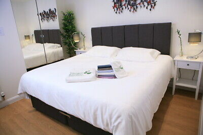 Bamboo King Size Fitted Sheet.100% Bamboo Antibacterial, organic. White