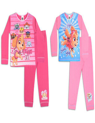 18-24 Months TWIN PACK Girls NICKELODOEN PAW PATROL PYJAMAS