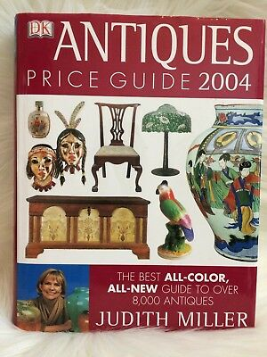 Antiques Price Guide 2004 by Judith Miller (2003, Hardcover) All Color