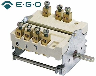 Operation Switch 4 Operating Positions 1No/2Co Sequence 0-1-2-3 4324232000 Ego