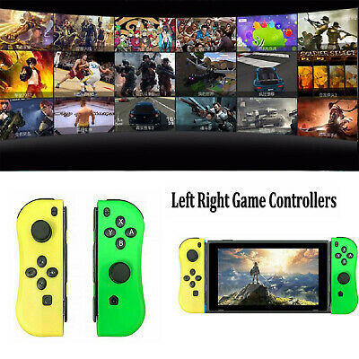 Joy-Con Game Controllers Gamepad Joypad for Nintendo Switch Consoles Left+Right
