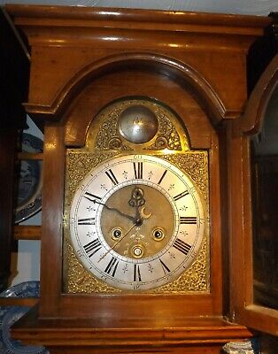 Antique 8 Day Longcase/Grandfather Clock William Abbot Sarson Fecit