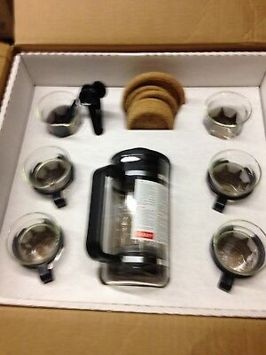Bodum  Bistro 12-Piece Gift Set with 8-Cup Coffee Press - New in original Box !