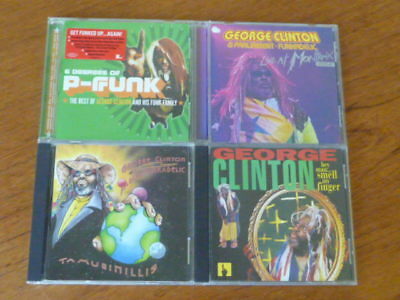 George Clinton: 4 CD Lot [funkadelic parliament soul motown p-funk