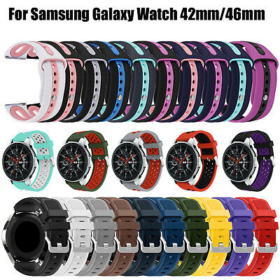 Replacement Sport Strap Silicone Bracelet  Band For Samsung Galaxy Watch 42/46mm