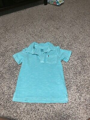 Carters Boys Turquoise Polo Size 2t