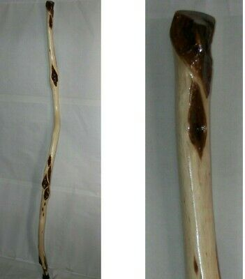 68 Tall Wizard Walking Staff Long Thick Strong Gnarly Diamond Willow Wood
