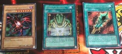 Yugioh Promo Set PCJ-EN (Power Of Chaos:Joey The Passion)