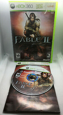 Fable II 2 - Complete CIB - Case Doesn't Close Well - Xbox 360