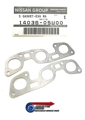 Genuine Nissan Graphite Exhaust Manifold Gasket - For R32 Skyline GTR RB26DETT