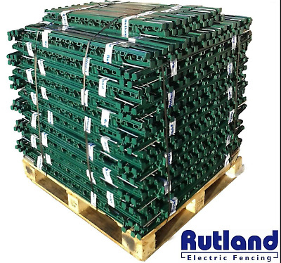 RUTLAND 3FT POLY POSTS 10-120 DEALS Electric Fence Posts Stakes TOP POST
