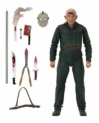 """NECA Friday the 13th Roy Burns Ultimate Part 5 7"""" Scale Action Figure PRE ORDER"""