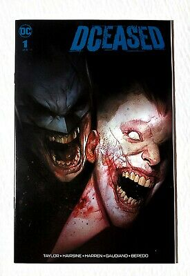 DCeased #1 Ben Oliver Cover A Torpedo Comics Exclusive Variant (ONLY 3000 MADE)