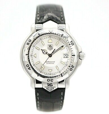 Tag Heuer Professional WH113-K1 Stainless Steel Silver Dial Quartz Men's Watch