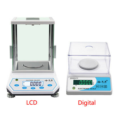 0.001g / 100g-500g Lab Analytical Balance Digital Electronic Scale