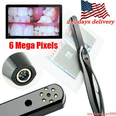 Dental HD USB 2.0 Intra Oral Intraoral Camera 6 Mega Pixels 6-LED Endoscope CAM