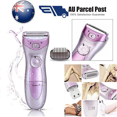 Electric Lady Shaving Clipper Rechargeable Women Shaver Wet&Dry Trimmer Razor