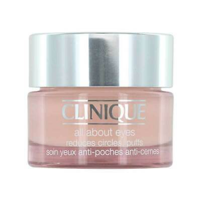 Clinique  All About Eyes 15ml Reduces circles Puffs All skin types