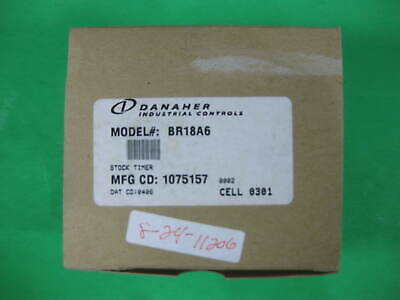 Danaher/Eagle Signal Time Delay Relay -- BR18A6 -- New