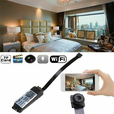 WiFi Mini Hidden Spy Camera Wireless HD 1080P Digital Video Motion Activated LJ