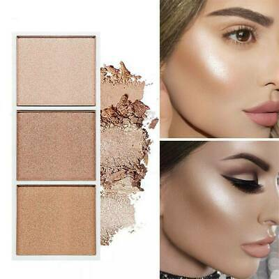 Highlighter Makeup Palette Face Contour Powder Bronzer Blusher Palette New CN