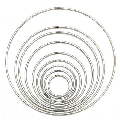 Metal Ring Hoops For Craft Dream Catcher Butterfly Mobile Ring Feather Proper
