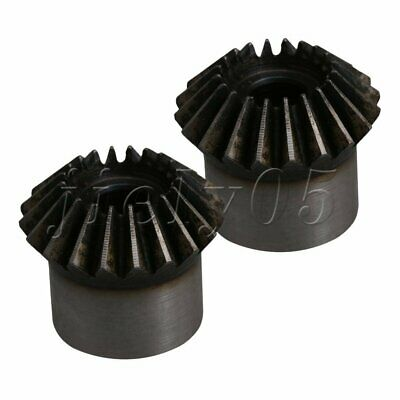 45# Steel 16T/20T Tapered Bevel Gear Wheel 6/8/10/12/14mm Bore Pack of 2