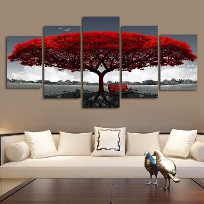 Large Canvas Modern Wall Art Oil Painting Picture Print Unframed For Home PJ823