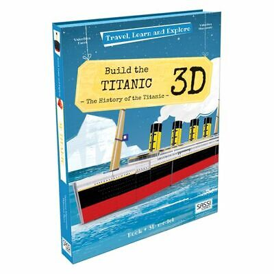NEW SASSI Travel, Learn, and Explore, Build a 3D Titanic Model & Book Set