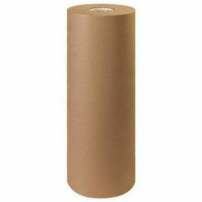 18 - 60 Lb Basis Weight Kraft Paper, 600' / Roll, Lot of 1