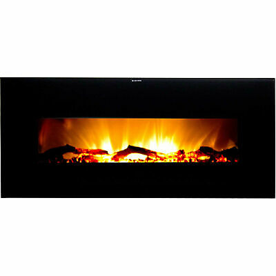 Frigidaire Valencia Widescreen Wall-Mounted Electric Fireplace with Remote