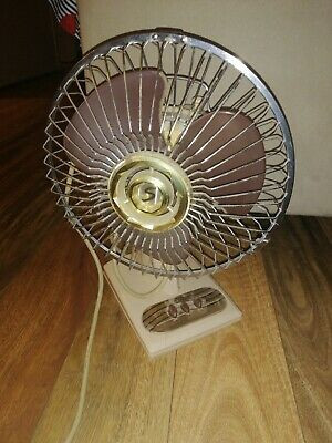 Collectable  seabreeze 2 speed retro Table Fan