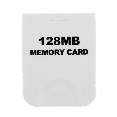 128MB Memory Card for Nintendo Wii Gamecube GC Game White S1E7